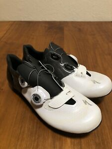 Specialized S-Works SW 6 XC Women White/Black 8 39EU Cycling MTB Shoes Clipped