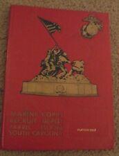 1975 Marine Corps Basic Training Parris Island SC Platoon 3017 Yearbook