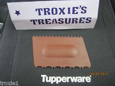 Tupperware Cake Decorator Icing Tool Rare Dark Brown Gadget New