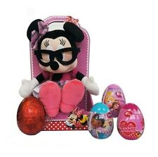 Minnie Easter Gift Set with Plush Toy, Mystery Eggs & Easter Egg