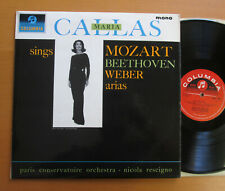 33CX 1900 Maria Callas Sings Mozart Beethoven Weber (= SAX 2540) Columbia Mono