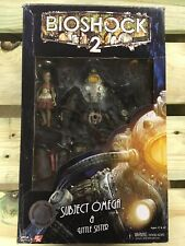 """NECA Bioshock 2 Set -- Subject Omega and Little Sister, and """"Bunny"""" Splicer Mask"""