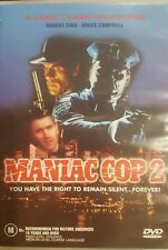 MANIAC COP 2 OOP RARE DELETED R4 PAL DVD CULT HORROR ROBERT DAVI BRUCE CAMPBELL