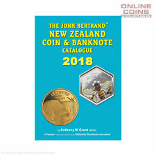 2018 Edition - The John Bertrand New Zealand Coin and Banknote Catalogue