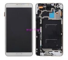 LCD Display Touch Screen Per Samsung Galaxy Note 3 N9005 Bianco With Frame+Tools