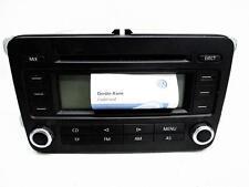 VW Passat 3C Radio RCD300 mit Radio Pass Bj 2005 2,0TDI 103kW 1K0035186P