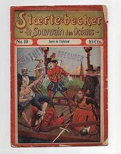 STOERTE BECKER  souverain des océans. n°10. Fascicule Populaire 1910.