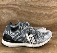 Adidas UltraBOOST Uncaged Running Shoes Size 10 Cloud White Grey ( Defect Read)
