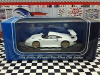 KYOSHO 1996 PORSCHE 911 GT1 [WHITE] BEADS COLLECTION SCALE 1:64