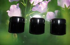Miron Violettglas 3 Kosemtikdosen mit Deckel 100 ml Inhalt