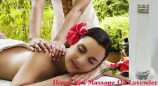 MASSAGE OIL LAVENDER FLOWERS BODY HOME SPA AROMATHERAPY 60 ml.FREE SHIPPING