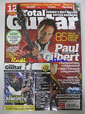 TOTAL GUITAR Magazine SEALED Ott 2008 +cd Aerosmith Paul Gilbert Counting Crows