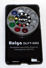 Holga Desmontable Lente Filtro Kit DLFT Para Samsung Galaxy Sii Negro