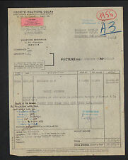 """NANTES (44) Société ROUTIERE / PRODUITS CHIMIQUES """"COLAS"""" en 1956"""