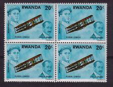 AVIATION HISTORY WRIGHT Brothers MINT NEVER HINGED EARLY PLANES MNH RWANDA Bk 4