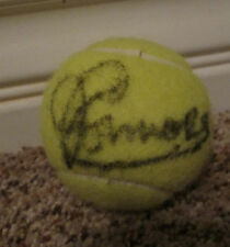 Jimmy Connors Signed Wilson US Open Tennis Ball with proof