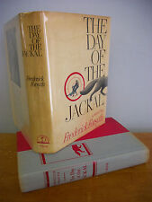 THE DAY OF THE JACKAL by Frederick Forsyth, 1971 1st Ed 2nd Ptg in DJ