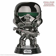 Star Wars Rogue One - Death Trooper Chrome US Exclusive Pop! Vinyl Figure - BNIB