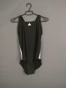 Adidas 3-stripes Swimsuit Women Size 42 Black Swimming Active Sport BP5435 ig93