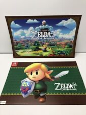 (2) Two: The Legend Of Zelda Poster Links Awakening Game Stop Official