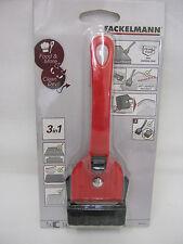 New Fackelmann 3 in 1 Multi Hob Cleaner Scraper Tool Scrapping Blade 601467