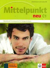 Klett mittelpunkt NEU c1 Arbeitsbuch mit Audio-CD @new @