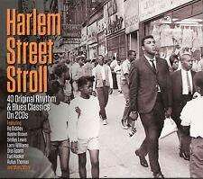 HARLEM STREET STROLL - 2 CD BOX SET, 40 ORIGINAL RHYTHM & BLUES CLASSICS