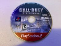 Call of Duty Finest Hour (Playstation 2 PS2) - DISC ONLY