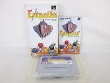 ESTPOLIS 1 Super Famicom Nintendo Taito SFC Import JAPAN Boxed Game sf