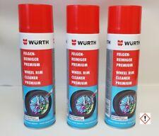 [30,42€/L]  3 Stück Würth Felgenreiniger Premium 400ml Art. 0893476500