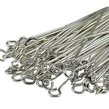 100pcs Silver/Golden/Bronze/Copper Head/Eye/Ball Pin Craft Finding Pins Needles