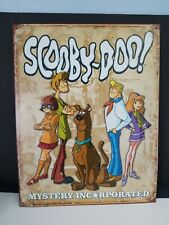 Scooby Doo! Mystery Incorporated Metal Tin Sign