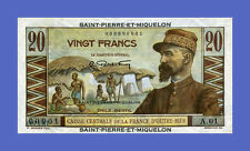 SAINT PIERRE & MIQUELON - 20 FRANCS 1950s - Reproductions