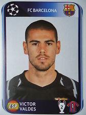 Panini 210 Victor Valdes FC Barcelona UEFA CL 2010/11