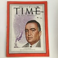 Time Magazine August 8 1949 Vol 54 #6 Former NBI Director J. Edgar Hoover