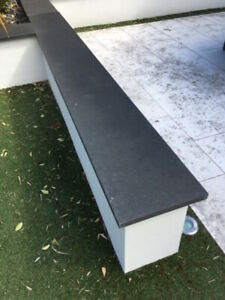 Sample 30mm Slate coping, wall toppers,  copings stone Wall capping stones