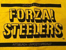 ITALIAN Steeler Towel