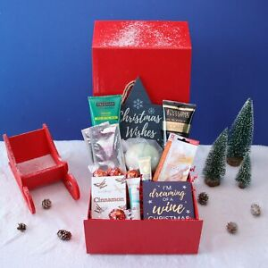 Self Care Christmas Pamper Hamper Gift Box Bath and Body for Her