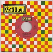 """NORTHERN SOUL 7"""" 45 C AND THE SHELLS I'VE FALLEN IN LOVE US COTILLION RE"""
