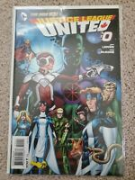 DC Comics - Justice League United - Issue #0 Jeff Lemire
