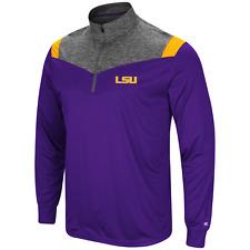 "LSU Colosseum Men's ""Championship Trophy"" 1/4 Zip Fleece Jacket  Size:  XL"