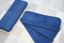 14 BLU GLITTER Open Plan TAPPETO pedate delle scale BLUE SPARKLE PADS! 14 grandi PADS