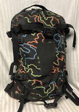 Burton AK 23L Pack Backpack Black w/Neon