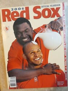 Boston Red Sox 2006 Official Yearbook Baseball MLB