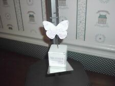 """K&K Interiors -5"""" Mother Butterfly Block-""""You Hold A Very Special Place."""