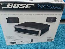 Bose 321 SERIES Sistema Home Cinema HDMI III GS en Embalaje Original Como Nuevo