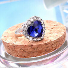 Alloy Blue Costume Rings
