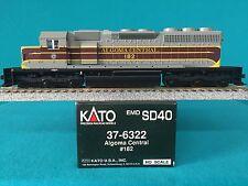 37-6322 Kato HO Scale SD40 Algoma Central NIB