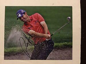 Padraig Harrington Hand Signed 8x10 Photo Autographed c