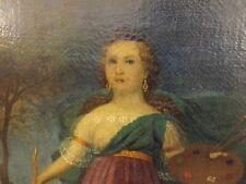 Quadri antichi dipinti con scene mitologiche allegorie olio su tela canvas